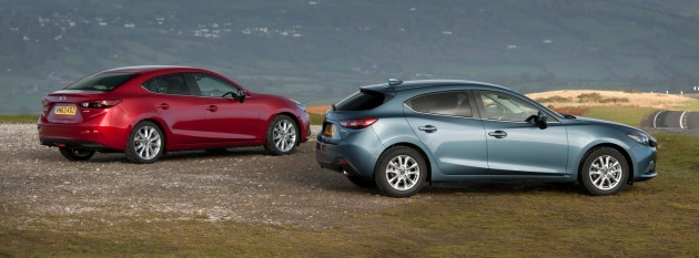 Only The Hatchback Version Of The 3 Gets The Option Of A Six Speed  SkyActiv Drive Automatic Gearbox.