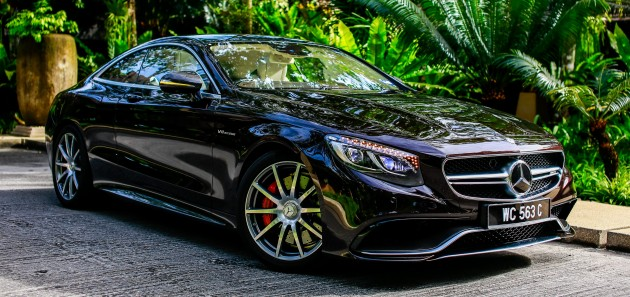 Mercedes-AMG S63 Coupe debuts in M'sia, RM1.5 mil