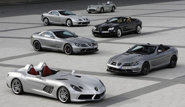 mercedes-benz slr successor to go hybrid in 2018?
