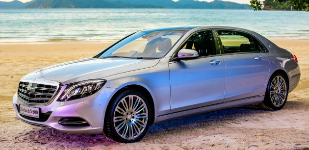 mercedes-maybach s500 and s600 launched in malaysia