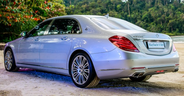 Mercedes maybach s500 and s600 launched in malaysia for Mercedes benz maybach 6 price