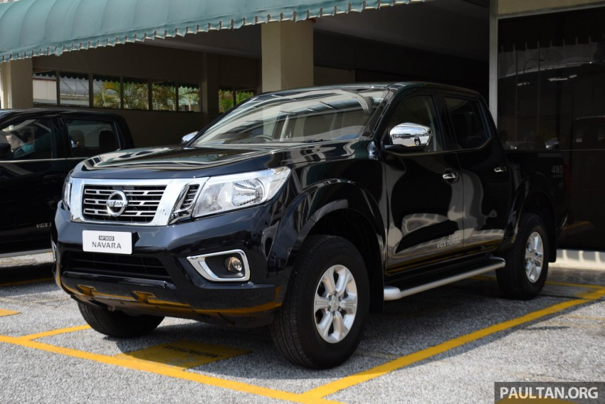 Nissan Np300 Navara Previewed In Malaysia 6 Single And