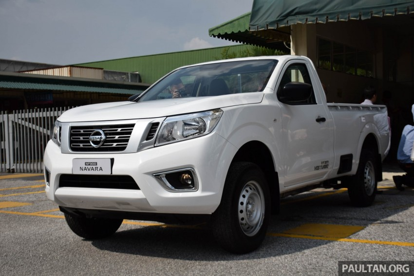 Nissan NP300 Navara previewed in Malaysia – 6 single and double cab variants, from RM85k to RM125k est Image #406039