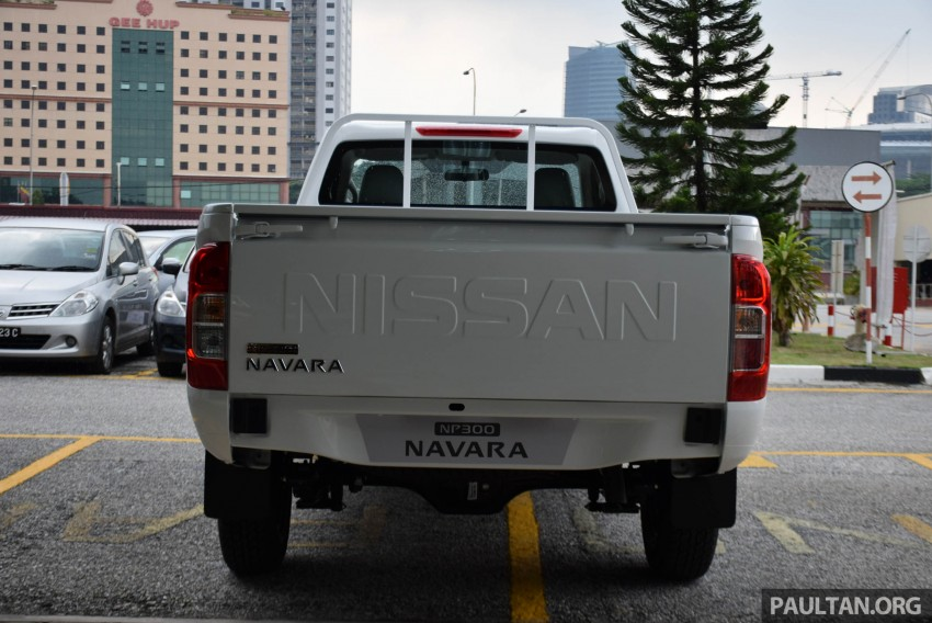 Nissan NP300 Navara previewed in Malaysia – 6 single and double cab variants, from RM85k to RM125k est Image #406050