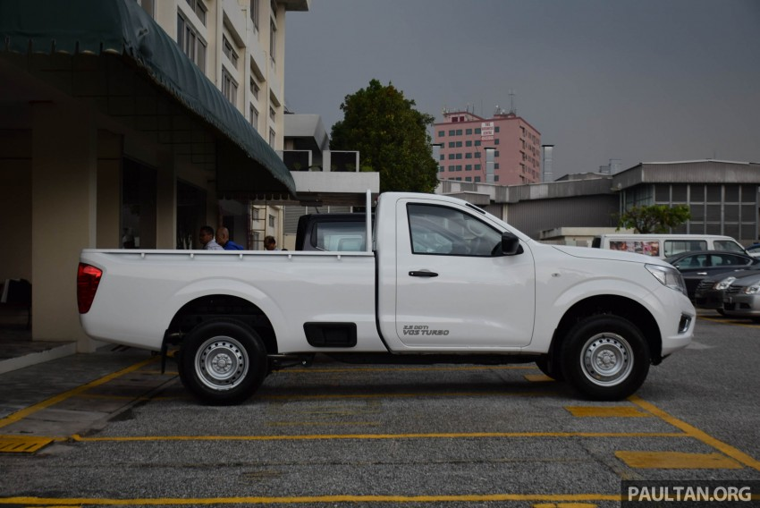 Nissan NP300 Navara previewed in Malaysia – 6 single and double cab variants, from RM85k to RM125k est Image #406040
