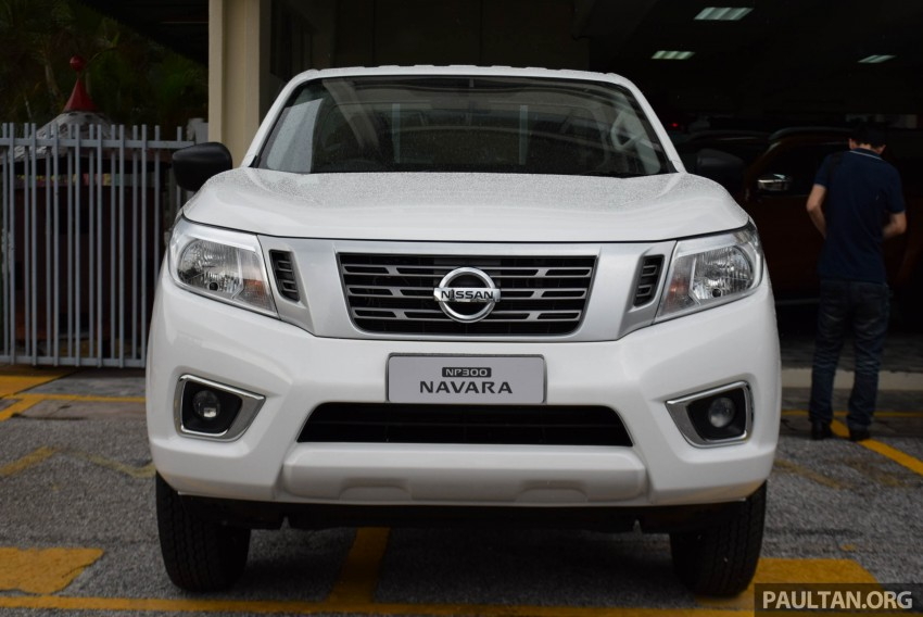 Nissan NP300 Navara previewed in Malaysia – 6 single and double cab variants, from RM85k to RM125k est Image #406041