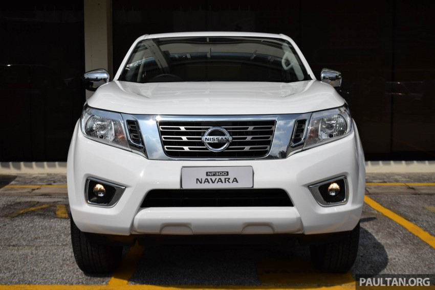 Nissan NP300 Navara previewed in Malaysia – 6 single and double cab variants, from RM85k to RM125k est Image #406016