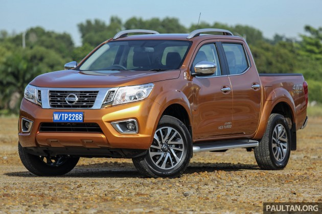 Nissan Np300 Navara Previewed 6 Variants From Rm85k Est