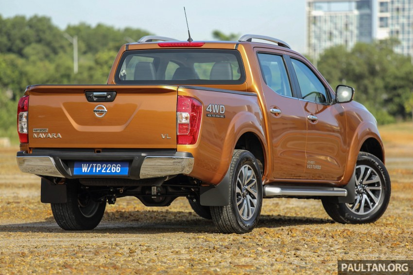 Nissan NP300 Navara previewed in Malaysia – 6 single and double cab variants, from RM85k to RM125k est Image #405772