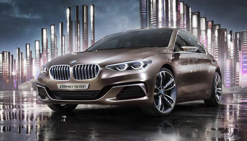 BMW Concept Compact Sedan previews FWD sedan Image #410533