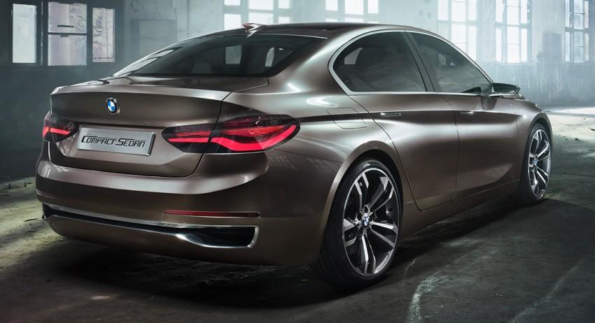 BMW Concept Compact Sedan previews FWD sedan Image #410529