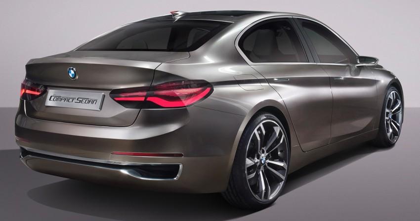 BMW Concept Compact Sedan previews FWD sedan Image #410530
