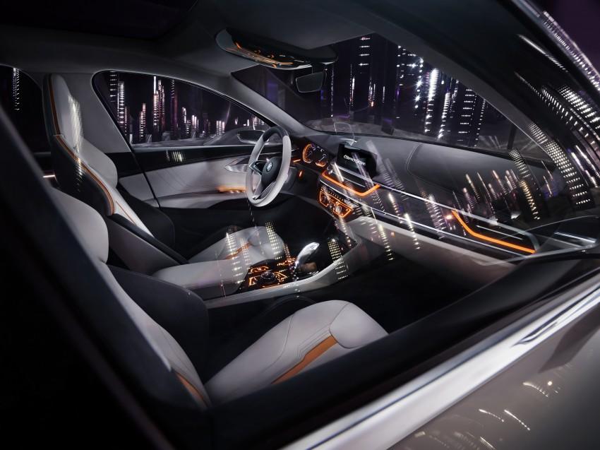 BMW Concept Compact Sedan previews FWD sedan Image #410534