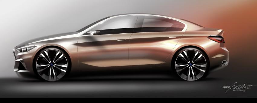 BMW Concept Compact Sedan previews FWD sedan Image #410541