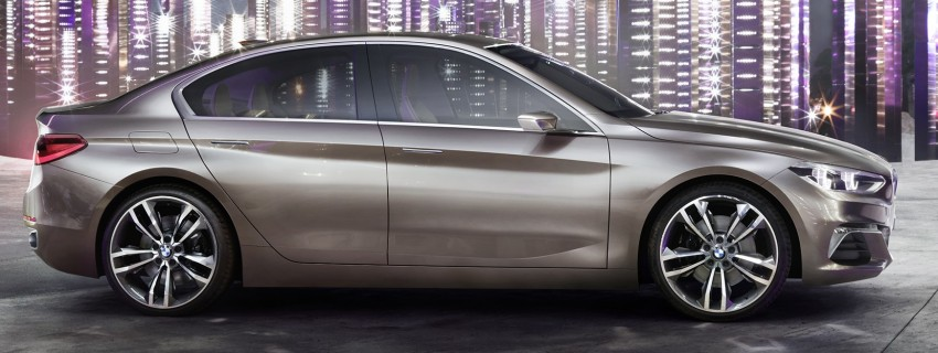 BMW Concept Compact Sedan previews FWD sedan Image #410522