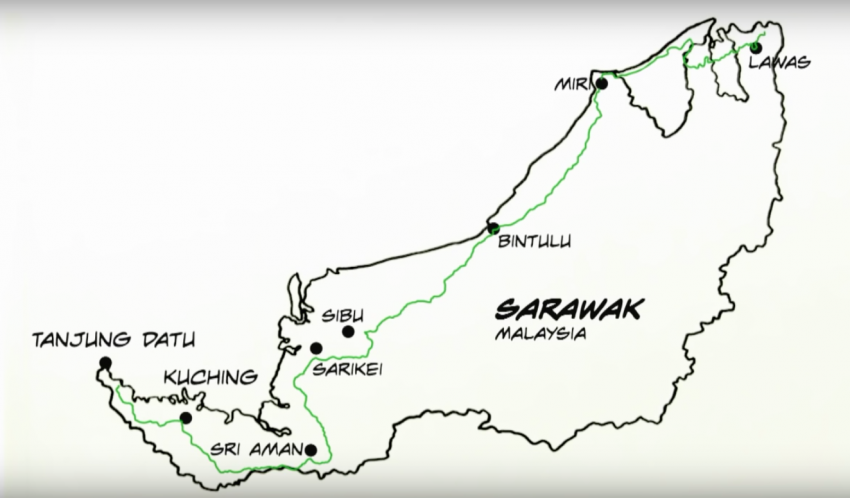 Pan Borneo Highway in Sarawak to be ready by 2023 Image #413192