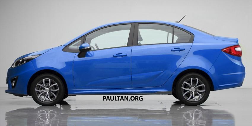 RENDERED: Proton Persona sedan, based on Iriz Image #407321