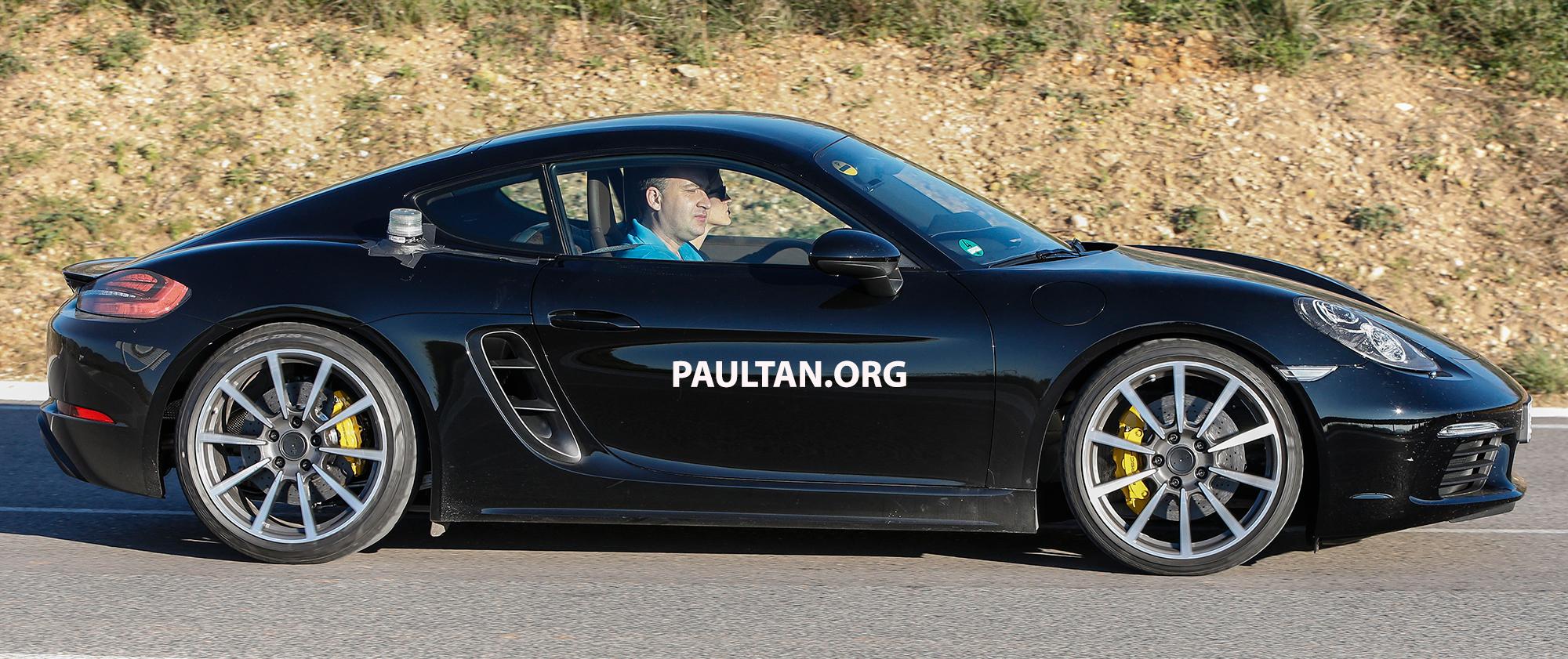 Spyshots 2016 Porsche Cayman 981 Facelift Spotted Paul