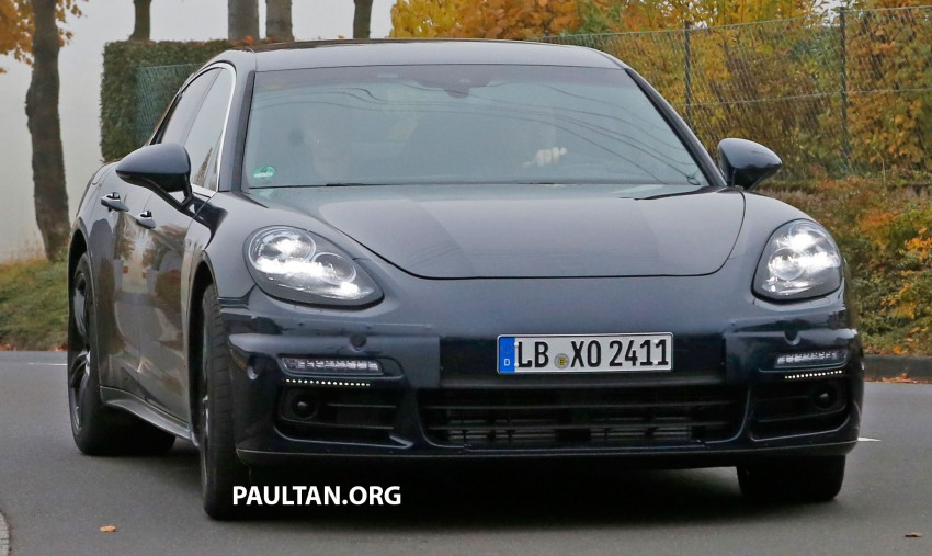 SPIED: Next-gen Porsche Panamera drops some camo Image #404449