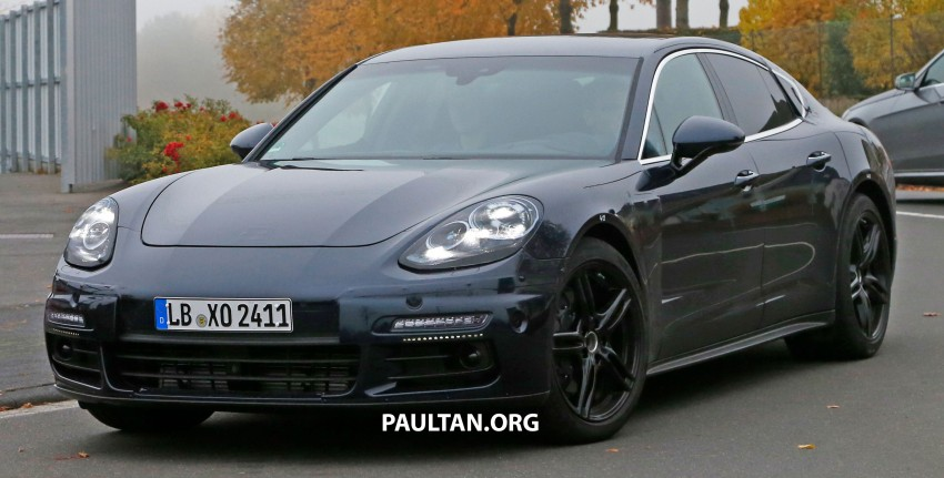 SPIED: Next-gen Porsche Panamera drops some camo Image #404451