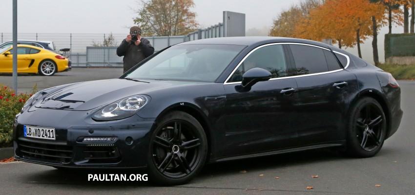 SPIED: Next-gen Porsche Panamera drops some camo Image #404452