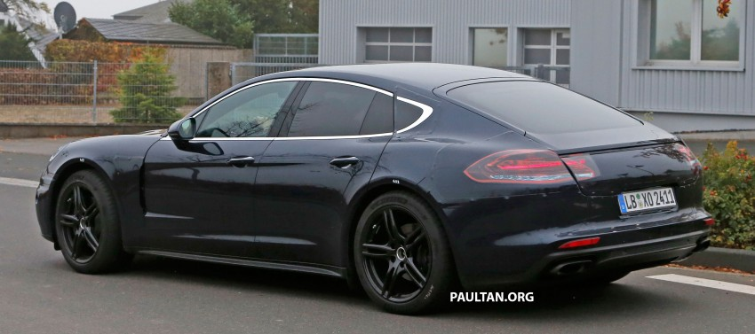 SPIED: Next-gen Porsche Panamera drops some camo Image #404455