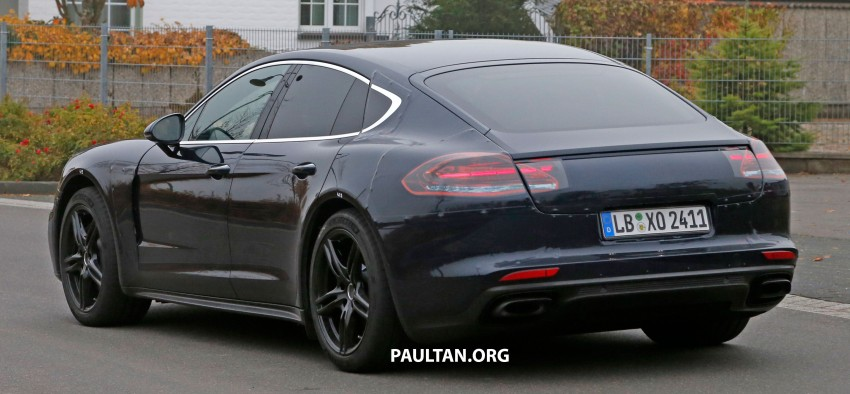 SPIED: Next-gen Porsche Panamera drops some camo Image #404456