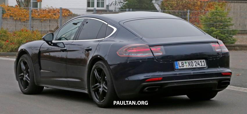 SPIED: Next-gen Porsche Panamera drops some camo Image #404456