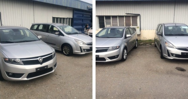 Proton Preve and Exora left hand drive Port Klang Chile-01