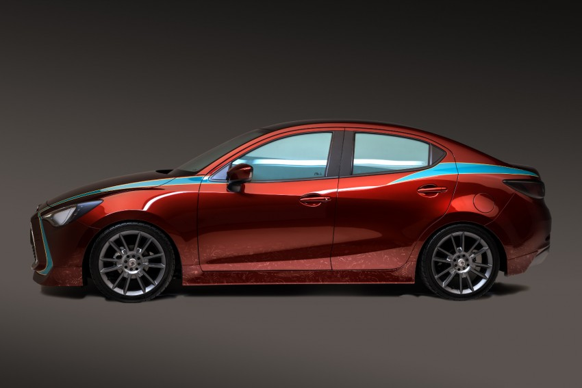 Scion iA sedan and iM hatch customised for SEMA Image #401109