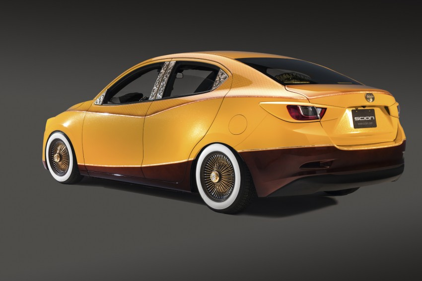 Scion iA sedan and iM hatch customised for SEMA Image #401091