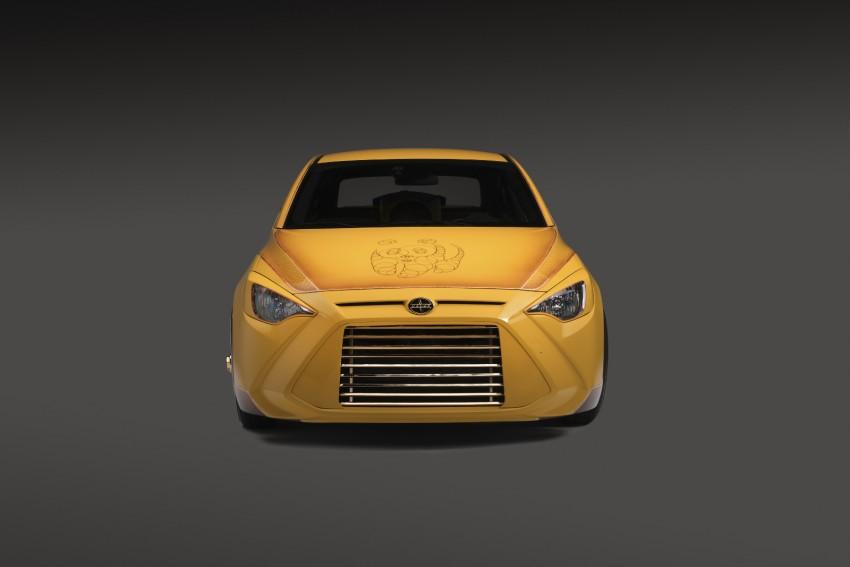 Scion iA sedan and iM hatch customised for SEMA Image #401094