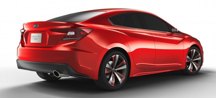 LA 2015: Subaru Impreza Sedan Concept breaks cover Image #409560