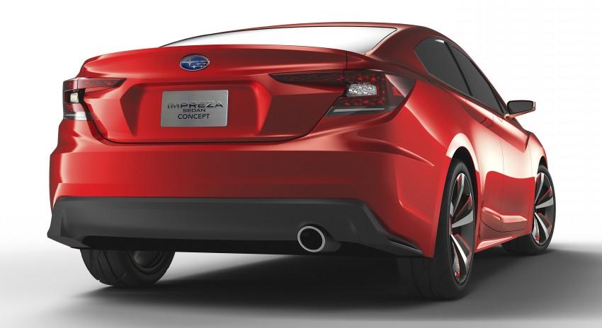 LA 2015: Subaru Impreza Sedan Concept breaks cover Image #409571