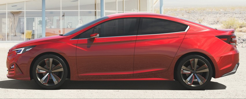 LA 2015: Subaru Impreza Sedan Concept breaks cover Image #409564