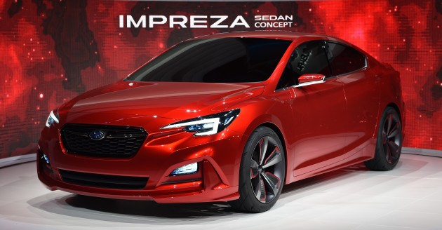 Subaru Impreza Sedan Concept Live 1