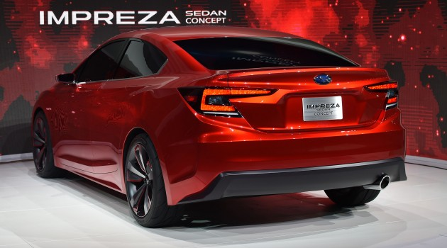 Subaru Impreza Sedan Concept Live 5