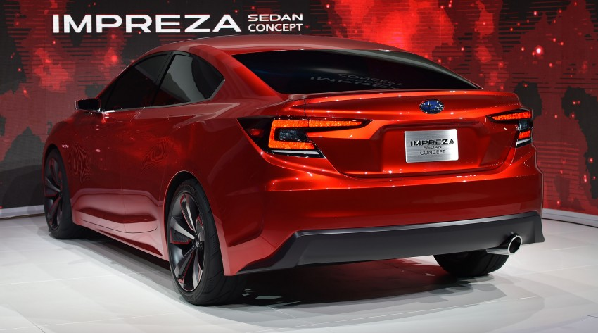 LA 2015: Subaru Impreza Sedan Concept breaks cover Image #409924