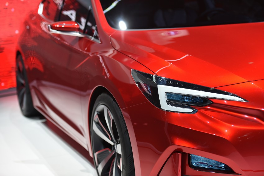 LA 2015: Subaru Impreza Sedan Concept breaks cover Image #409928