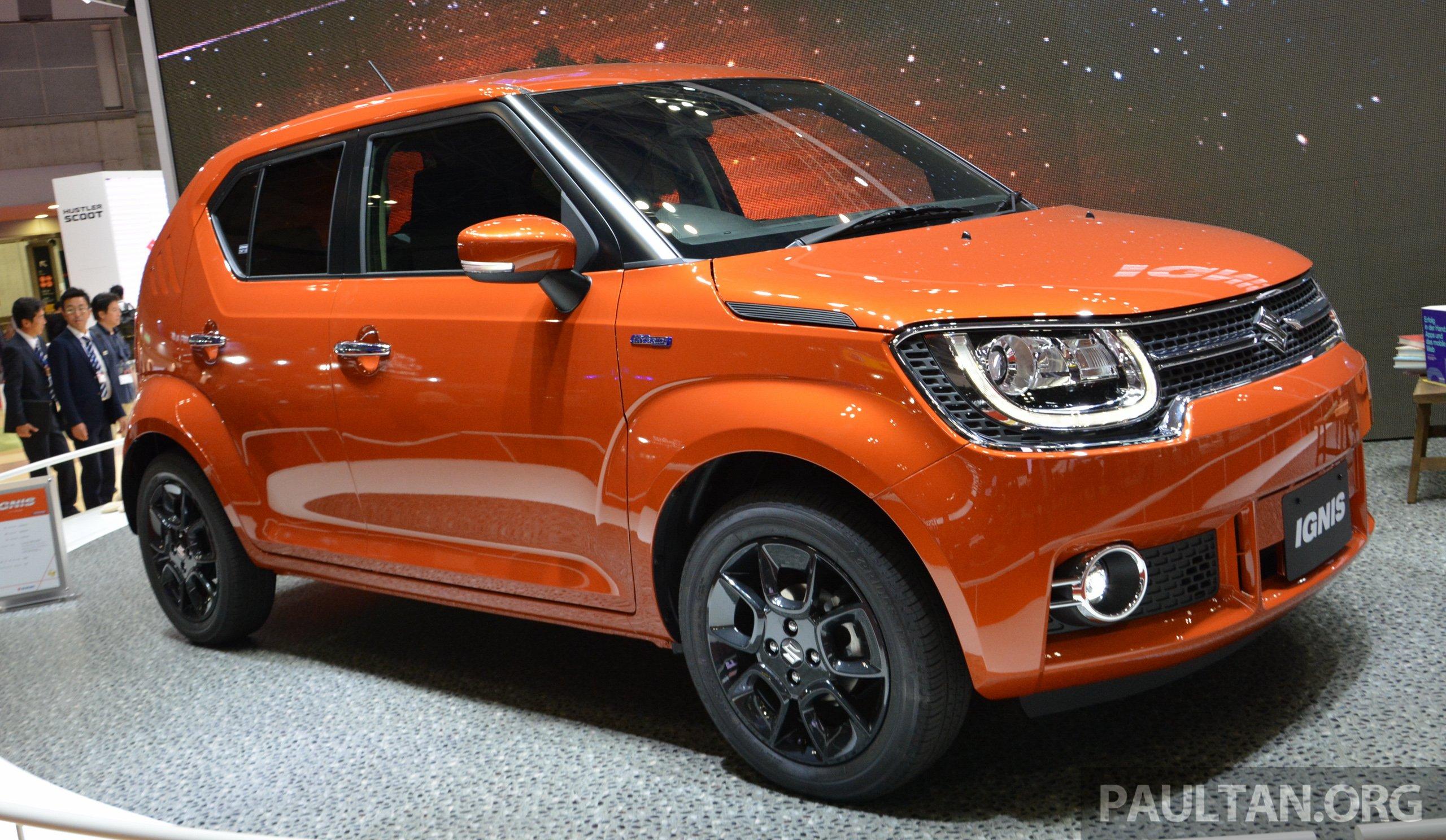 Tokyo 2015 Suzuki Ignis Production Im 4 Debuts