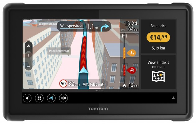 TomTom Bridge for Taxi