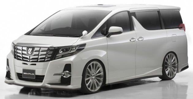 Toyota Alphard Wald-01