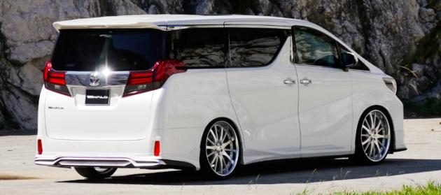 Toyota Alphard Wald-4