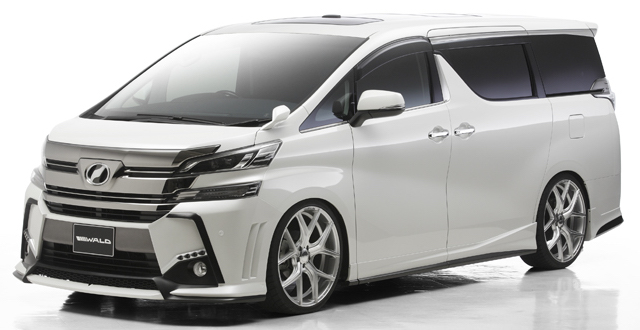 Toyota Alphard and Vellfire gets Wald Sports Line kits Image #411879