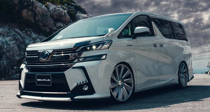 Toyota Alphard and Vellfire gets Wald Sports Line kits ...