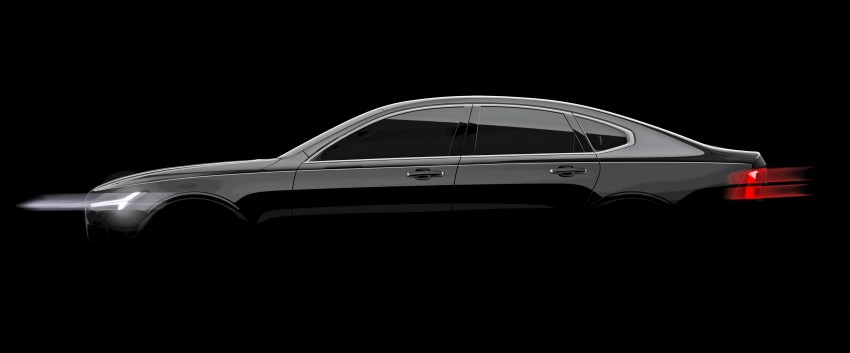 Volvo S90 officially teased, debuts in January 2016 Image #410747