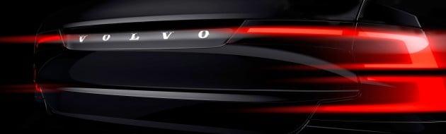 Volvo S90 teaser