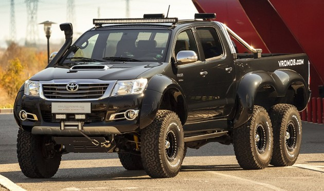 Used Suv For Sale In India >> Toyota Hilux 6x6 by Vromos - affordable G63 AMG 6x6