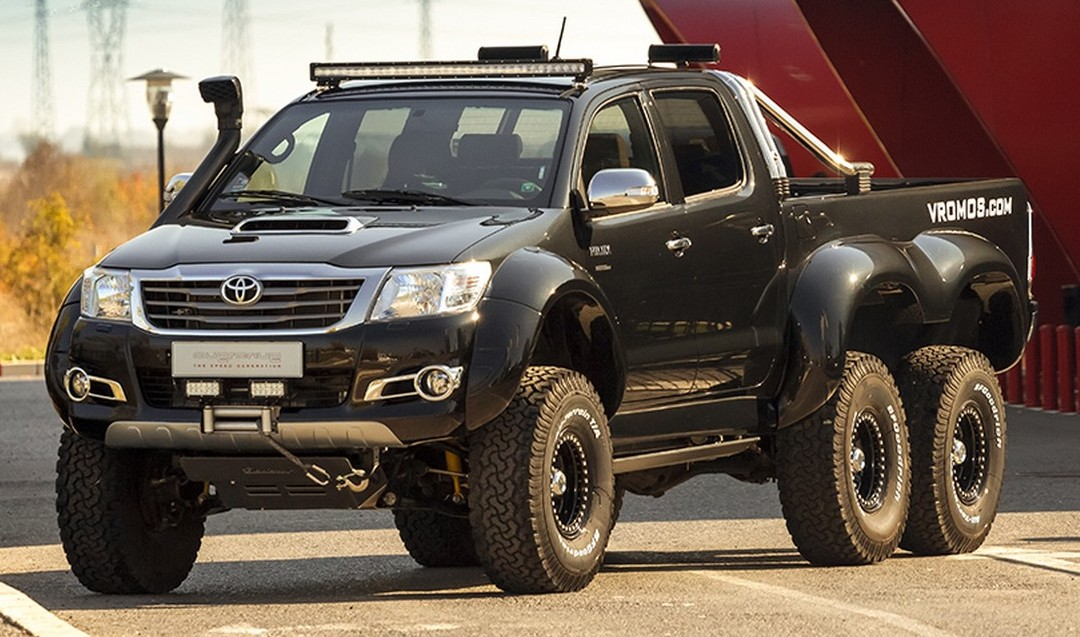 Toyota Hilux 6x6 by Vromos - affordable G63 AMG 6x6
