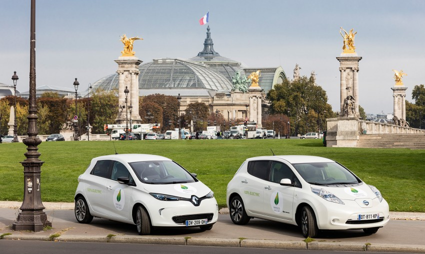 Renault-Nissan installing 90 new EV chargers in Paris Image #411202